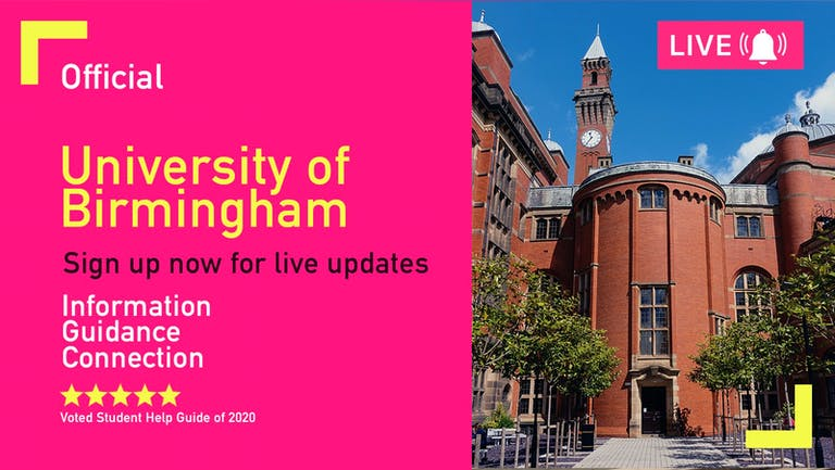 Birmingham Freshers Week 2021 - Free Pre-Sale Registration