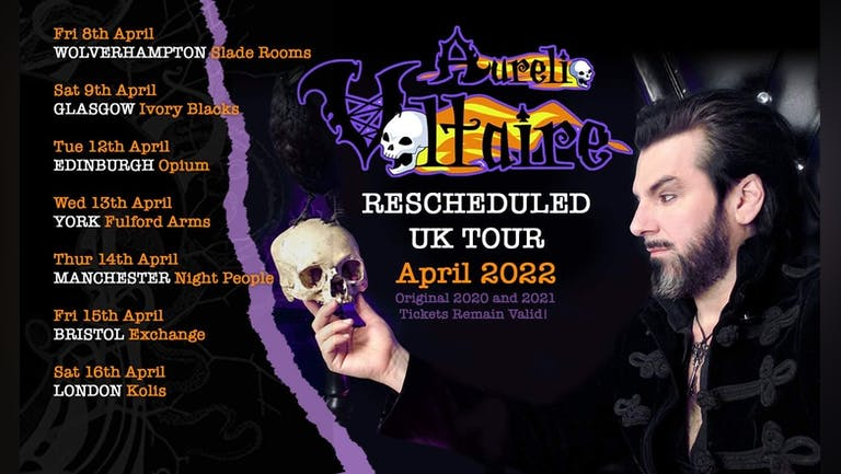 Aurelio Voltaire UK 2022 TOUR - Manchester