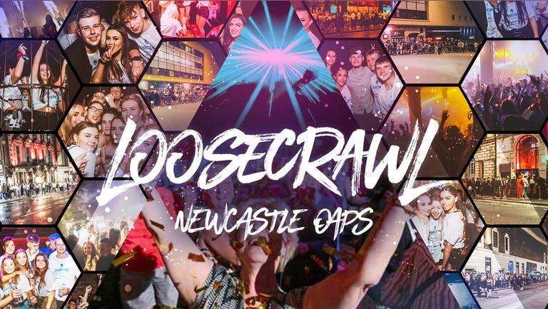 THE OAP LOOSECRAWL 👵🏼 | NEWCASTLE UNIVERSITY