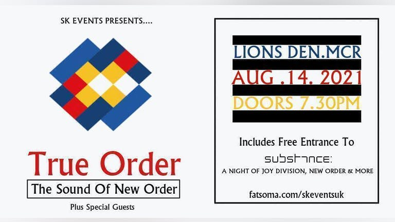 True Order - The Sound Of New Order Live In Manchester
