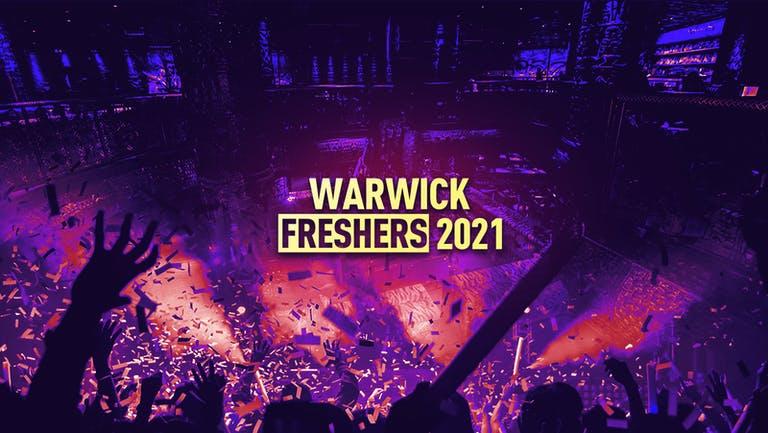 Warwick Freshers 2021 - FREE SIGN UP!