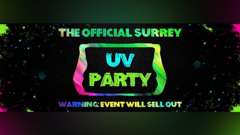 Surrey Freshers UV Party 2021