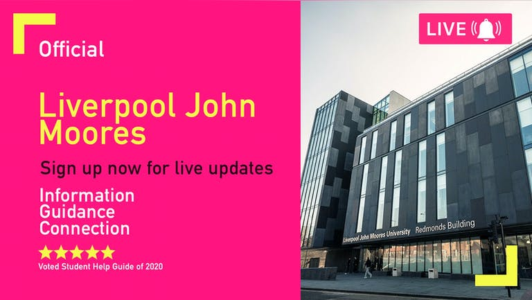 Liverpool John Mores Freshers Week 2021 - Free Pre-Sale Registration