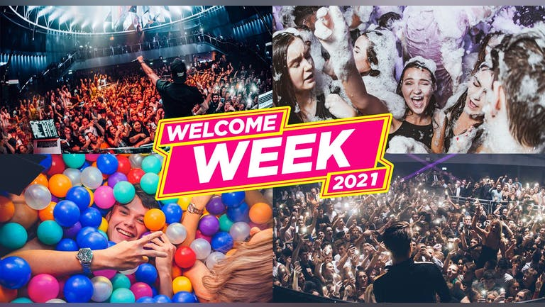 Newcastle Freshers Week 2021 - Free Pre-Sale Registration