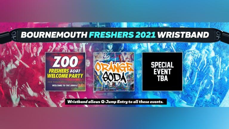 Bournemouth Freshers Invasion 2021 Wristband