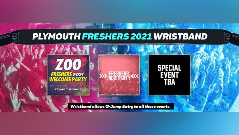 Plymouth Freshers Invasion 2021 Wristband