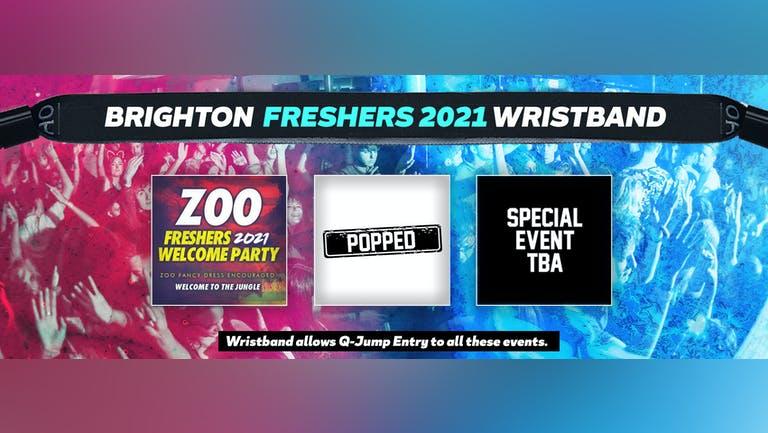Brighton Freshers Invasion 2021 Wristband