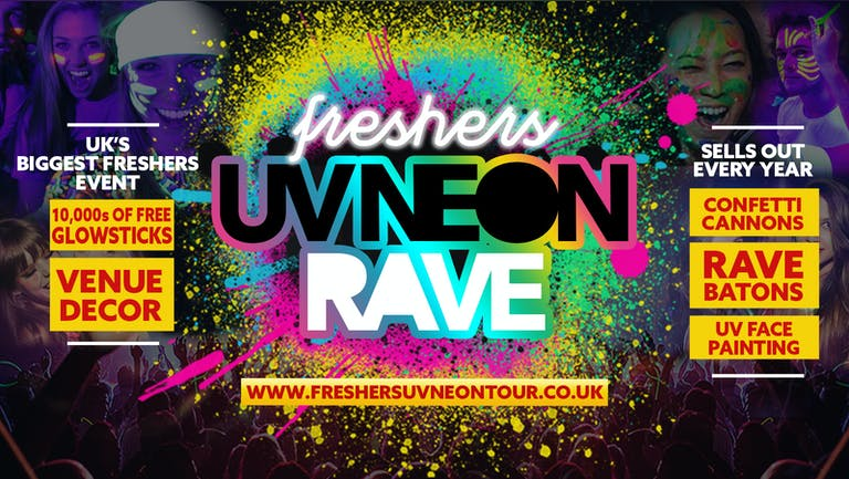 Coventry Freshers UV Neon Rave | Coventry Freshers 2021