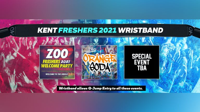 Kent Freshers Invasion 2021 Wristband