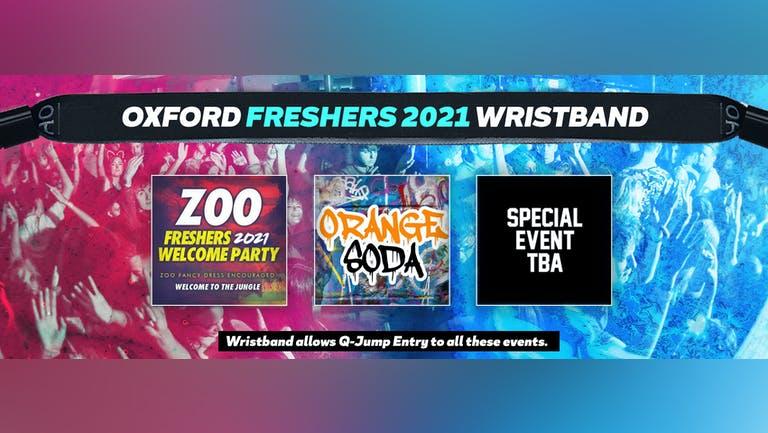 Oxford Freshers Invasion 2021 Wristband