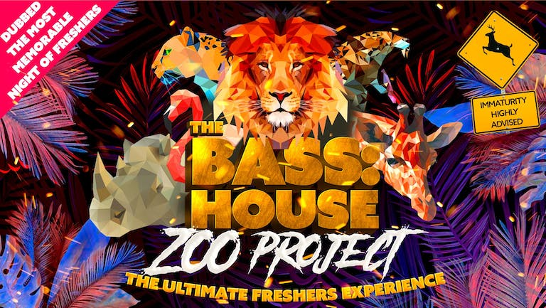 Bass:House Zoo Party Freshers Week Tours   Swansea