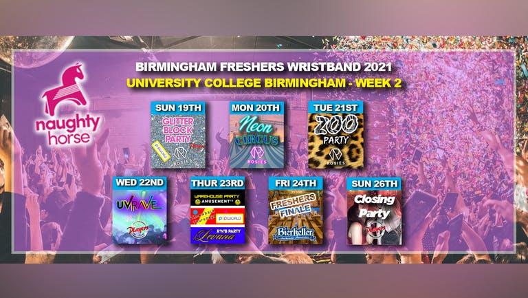 Birmingham Freshers Wristband 2021 - University College Birmingham (UCB) WEEK 2!