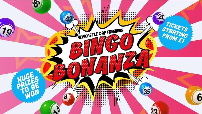 BINGO BONANZA   OAP   NEWCASTLE UNIVERSITY
