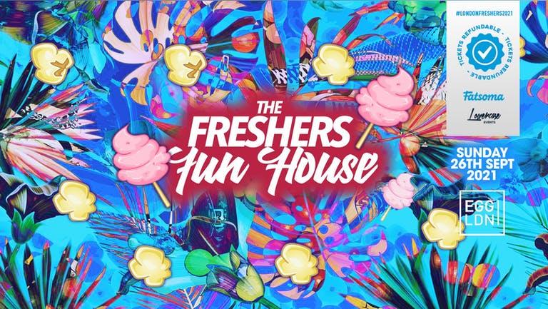 THE 2021 FRESHERS FUN HOUSE AT EGG LONDON! // FRESHERS WEEK 2 DAY 1
