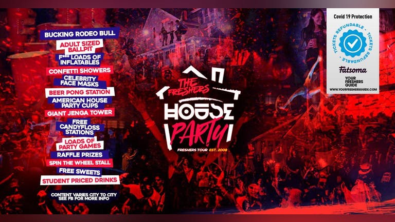 The Freshers House Party   Surrey Freshers 2021 // Guildford Freshers 2021 - Returners Tickets