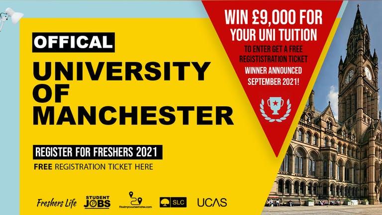 University of Manchester Freshers Week 2021 - Sign up now! Manchester Freshers Week Passes & more
