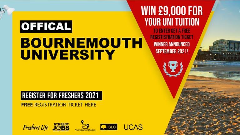 Bournemouth University Freshers Week 2021 - Sign up now! Bournemouth Freshers Week Passes & more