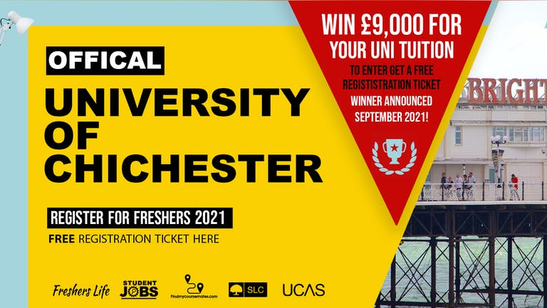University of Chichester Week 2021 - Sign up now! Portsmouth Freshers Week Passes & more