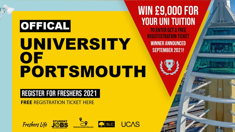 University of Portsmouth Week 2021 - Sign up now! Portsmouth Freshers Week Passes & more