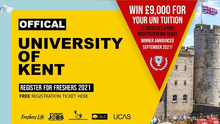 University of Kent Freshers Week 2021 - Sign up now! Canterbury Freshers Week Passes & more