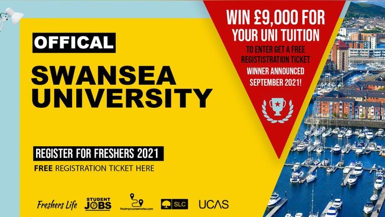 Swansea University Freshers Week 2021 - Sign up now! Swansea Freshers Week Passes & more