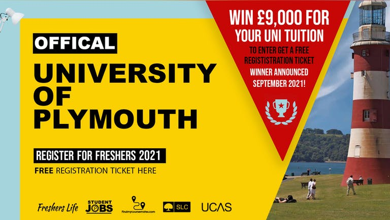University of Plymouth Week 2021 - Sign up now! Plymouth Freshers Week Passes & more