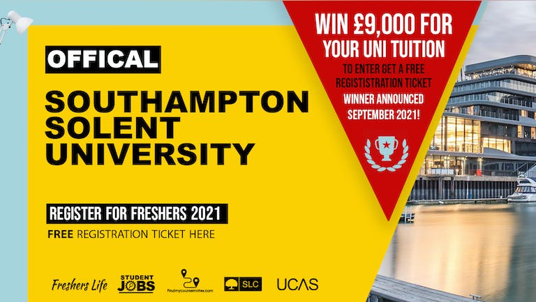 Solent University Freshers Week 2021 - Sign up now! Southampton Freshers Week Passes & more