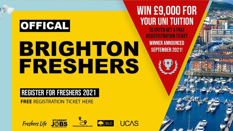Brighton Freshers Week 2021 - Sign up now! Brighton Freshers Week Passes & more
