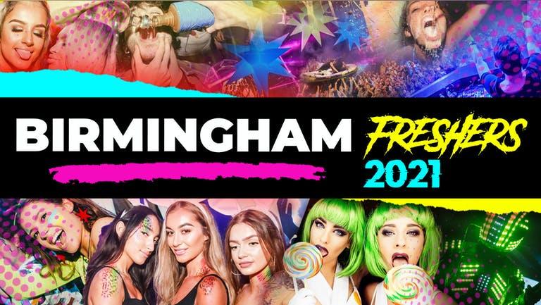 Birmingham Freshers Week 2021 - Free Registration (Exclusive Freshers Discounts, Jobs, Events)