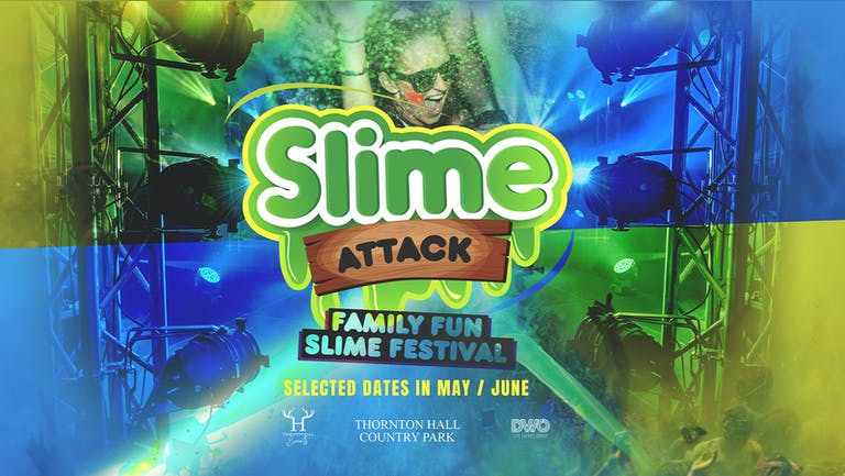 Slime Live - Saturday 21st August - Transferred/Not on Sale