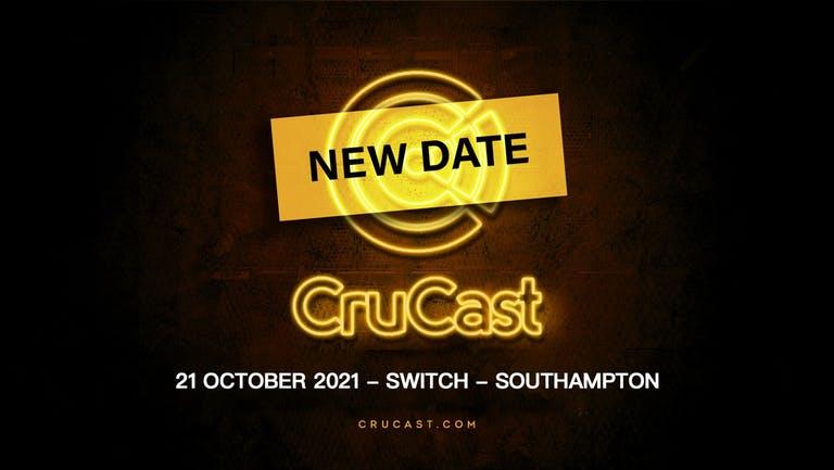 CruCast Southampton - THURS 21 Oct - Final 100 Tixs ADDED