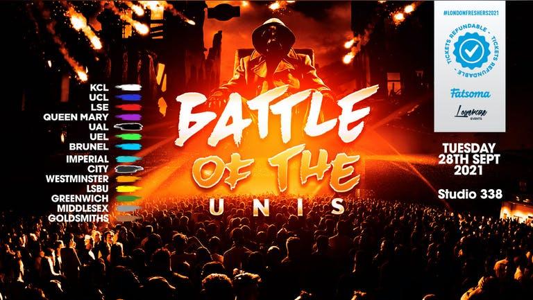 ⚠️TONIGHT⚠️ - THE 2021 BATTLE OF THE UNIS! THE BIG FRESHERS UNIVERSITY CLASH // FRESHERS WEEK 3 DAY 2