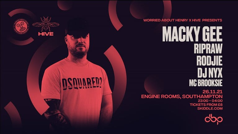 Friday 26th Nov: Worried About Henry presents Macky Gee + guests