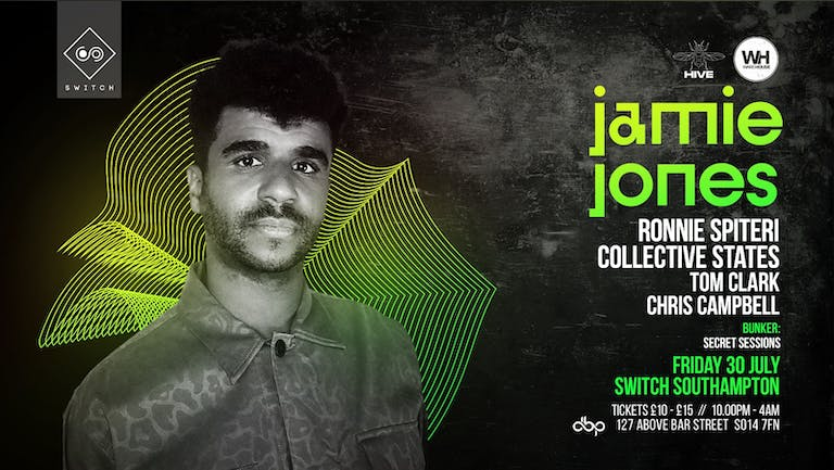 Jamie Jones • Friday 30th July - CANCELLED