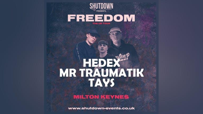 Shutdown - Freedom Tour - Milton Keynes