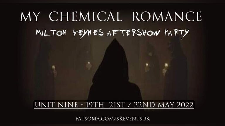 My Chemical Romance - Milton Keynes Aftershow Party - Thursday 19th May
