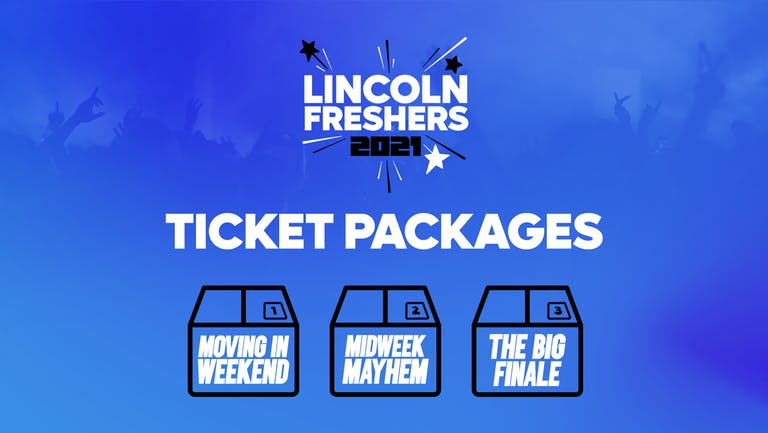 LINCOLN FRESHERS 2021 PACKAGES