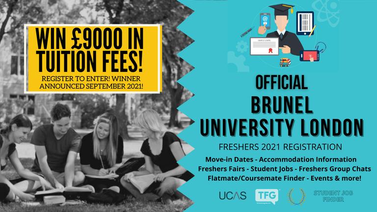 Brunel University London 2021 Freshers Guide. Sign up now for important freshers information! Brunel University London Freshers Week