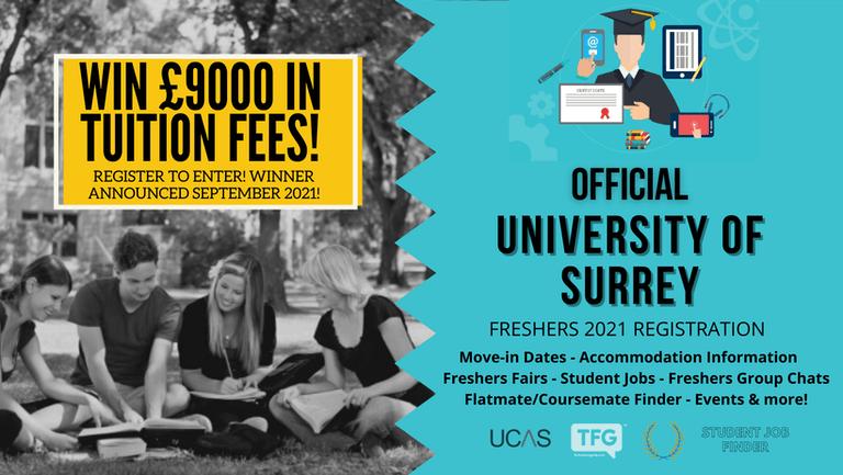 University of Surrey 2021 Freshers Guide. Sign up now for important freshers information! University of Surrey Freshers Week