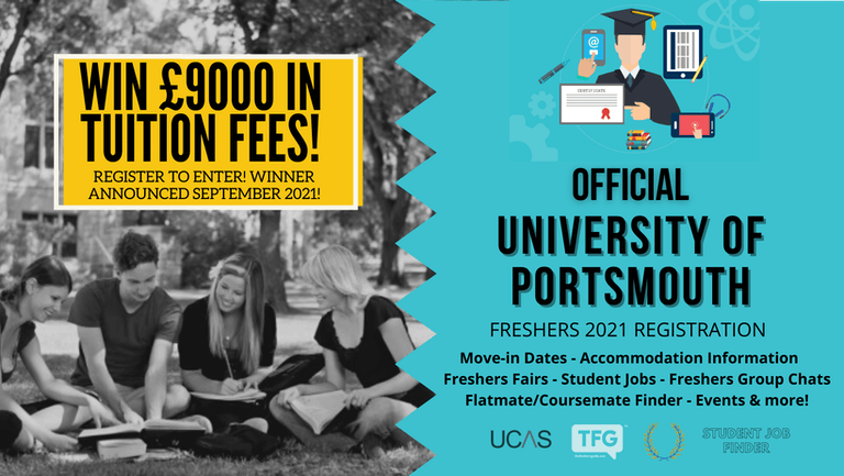 University of Portsmouth 2021 Freshers Guide. Sign up now for important freshers information! University of Portsmouth Freshers Week
