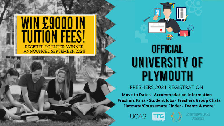 University of Plymouth 2021 Freshers Guide. Sign up now for important freshers information! University of Plymouth Freshers Week
