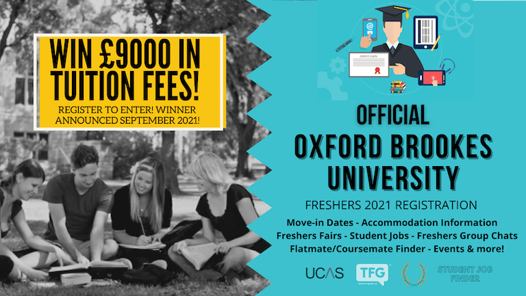 Oxford Brookes University 2021 Freshers Guide. Sign up now for important freshers information! Oxford Brookes University Freshers Week