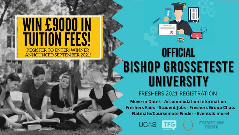 Bishop Grosseteste University 2021 Freshers Guide. Sign up now for important freshers information! Bishop Grosseteste Freshers Week