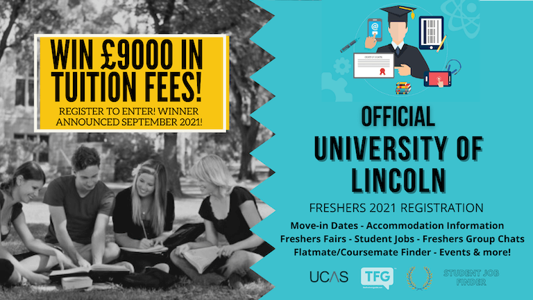 University of Lincoln 2021 Freshers Guide. Sign up now for important freshers information! University of Lincoln Freshers Week