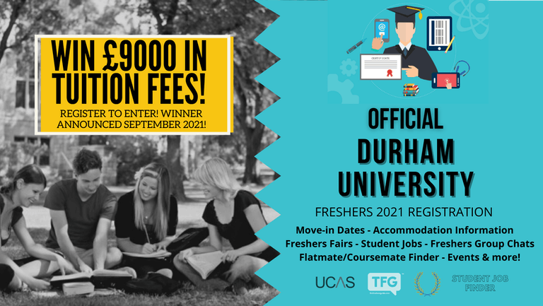 Durham University 2021 Freshers Guide. Sign up now for important freshers information! Durham University Freshers Week