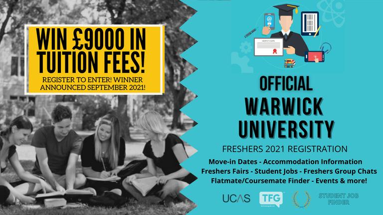 Warwick University 2021 Freshers Guide. Sign up now for important freshers information! Warwick University Freshers Week