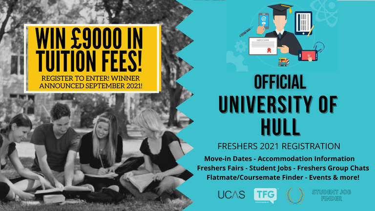 University of Hull 2021 Freshers Guide. Sign up now for important freshers information! University of Hull Freshers Week