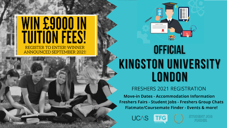 Kingston University London 2021 Freshers Guide. Sign up now for important freshers information! Kingston University London Freshers Week