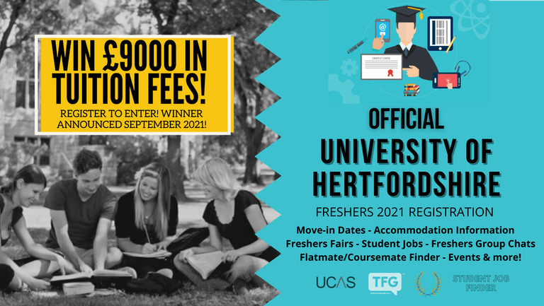 University of Hertfordshire 2021 Freshers Guide. Sign up now for important freshers information! University of Hertfordshire Freshers Week