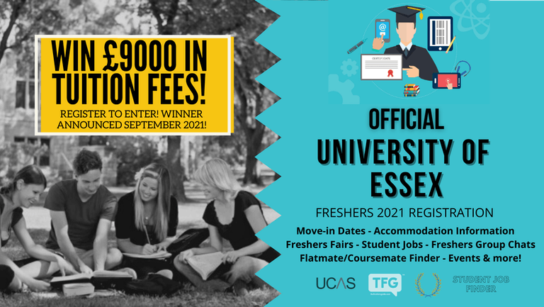 University of Essex 2021 Freshers Guide. Sign up now for important freshers information! University of Essex Freshers Week